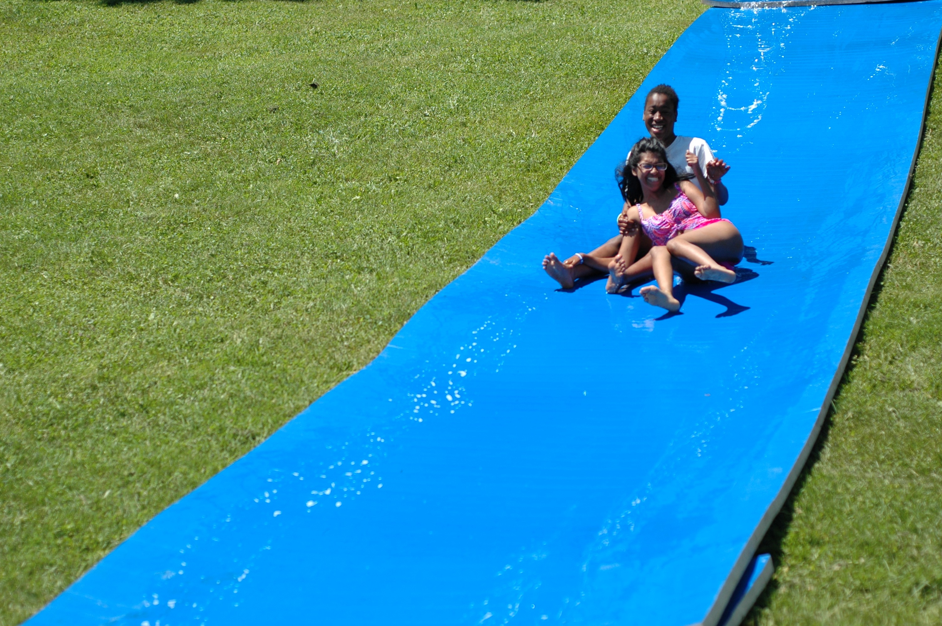 Camp water activities.