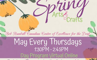 Spring Art & Crafts for Day Program