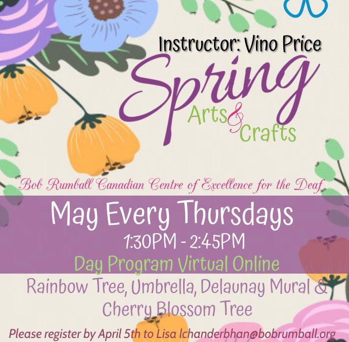 Spring Art & Crafts for Day Program